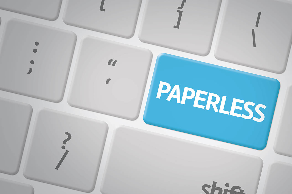 benefits of going paperless
